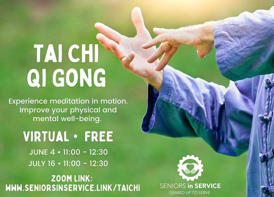 Tai Chi – Qui Gong with Certified Instructor Jeff Belton