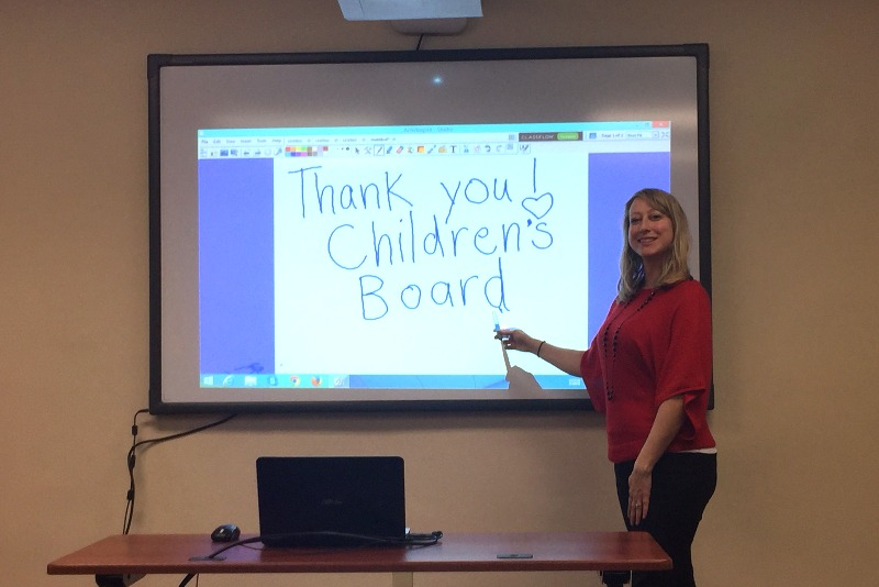 New Training Technology from the Children's Board
