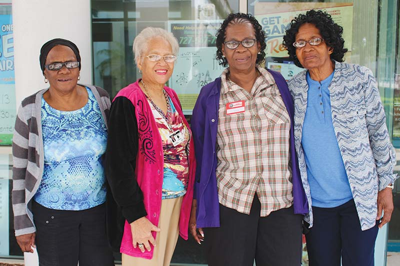 Foster Grandparent Volunteers Featured in The Weekly Challenger