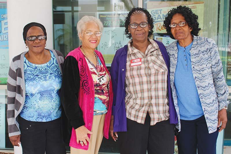 Foster Grandparent Volunteers Featured in The Weekly Challenger